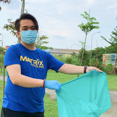 Matrix Cooling_World Clean Up Day 2020