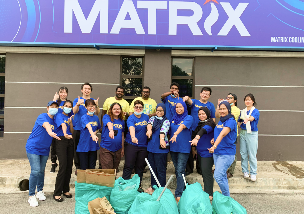 World Clean Up Day 2020 Malaysia Matrix Cooling